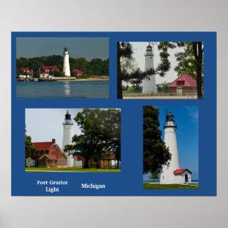 Fort Gratiot Light Station Poster
