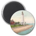 Fort Gratiot Lighthouse Fridge Magnet