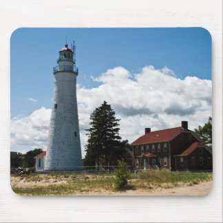 Fort Gratiot Lighthouse-mousepadcopy Mouse Pad