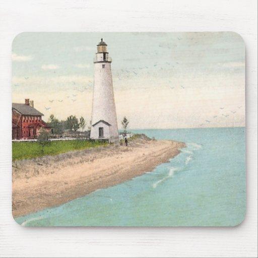 Fort Gratiot Lighthouse Mousepads