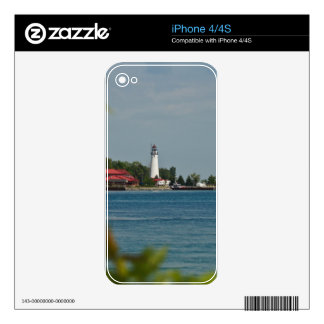 Fort Gratiot Lighthouse Skins For The iPhone 4