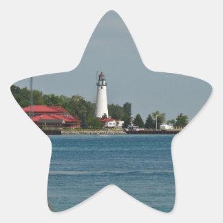 Fort Gratiot Lighthouse Star Sticker