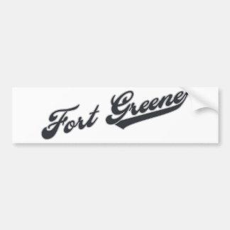 Fort Greene Car Bumper Sticker