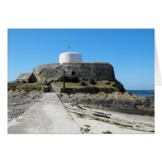Fort Grey in Guernsey Card
