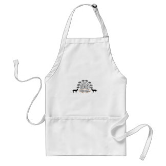 fort hall adult apron