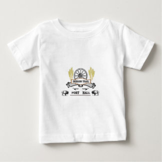 fort hall wheat plow baby T-Shirt