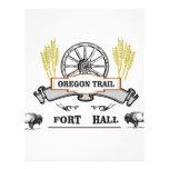 fort hall wheat plow letterhead