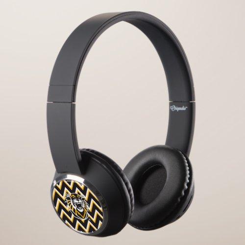 Fort Hays State | Chevron Pattern Headphones
