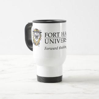 Fort Hays State Primary Mark   Motto Travel Mug