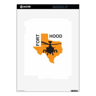 Fort Hood Base Decals For The iPad 2