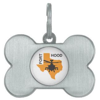 Fort Hood Base Pet ID Tag