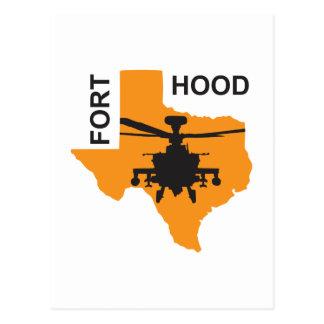 Fort Hood Base Postcard
