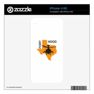 Fort Hood Base Skin For iPhone 4S
