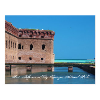 Fort Jefferson at Dry Tortugas National Park Postcard