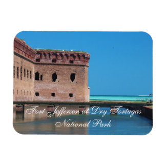 Fort Jefferson at Dry Tortugas National Park Rectangular Photo Magnet