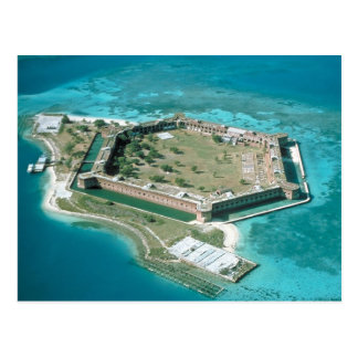 Fort Jefferson National Park Postcard