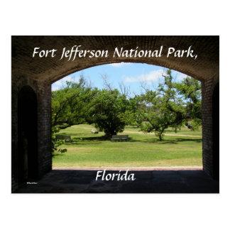 Fort Jefferson Post Card