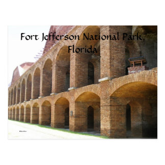 Fort Jefferson Postcard