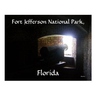 Fort Jefferson Postcard