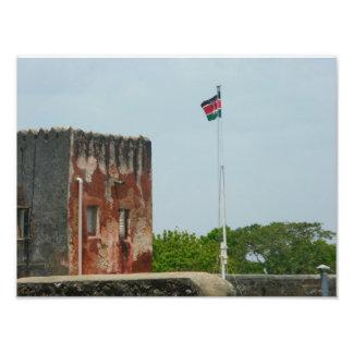 Fort Jesus 2 Mombasa, Kenya, East Africa Photo Print