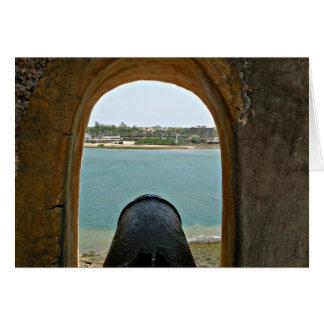 Fort Jesus 8 Mombasa, Kenya, East Africa Card