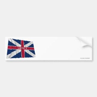 Fort Johnson Flag Bumper Sticker