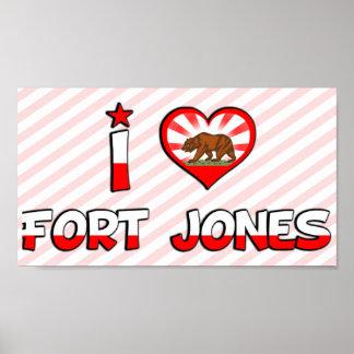 Fort Jones, CA Poster