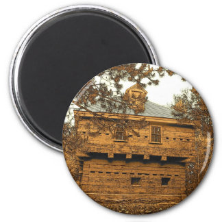Fort Kent Blockhouse 2 Inch Round Magnet