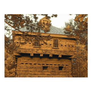 Fort Kent Blockhouse Postcard