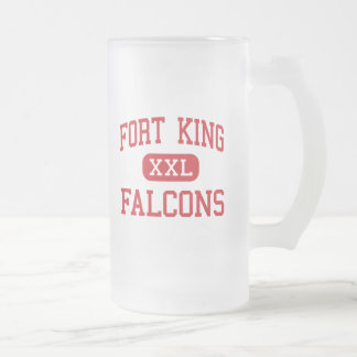 Fort King - Falcons - Middle - Ocala Florida 16 Oz Frosted Glass Beer Mug