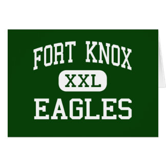 Fort Knox - Eagles - High - Fort Knox Kentucky Greeting Card