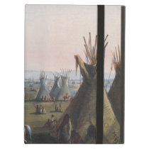 Fort Laramie, Sublette Fort, Fort William, Miller Cover For iPad Air