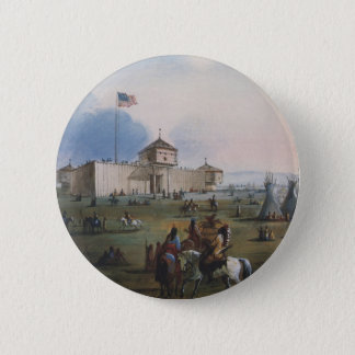 Fort Laramie, Sublette Fort, Fort William, Miller Pinback Button