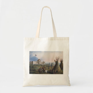 Fort Laramie, Sublette Fort, Fort William, Miller Tote Bag