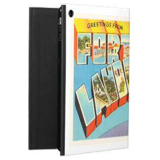 Fort Lauderdale #2 Florida FL Old Travel Souvenir Cover For iPad Air