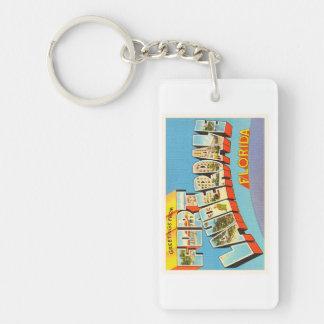 Fort Lauderdale #2 Florida FL Old Travel Souvenir Keychain
