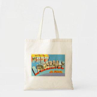 Fort Lauderdale #2 Florida FL Old Travel Souvenir Tote Bag