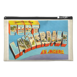 Fort Lauderdale #2 Florida FL Old Travel Souvenir Travel Accessories Bags