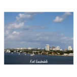 Fort Lauderdale Bay Area, Fort Lauderdale Post Card
