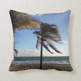 Fort Lauderdale Beach Palms Pillow