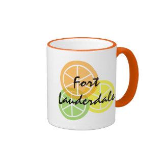 Fort Lauderdale Citrus OrangeLimeLemon Coffee Mug