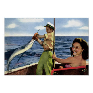 Fort Lauderdale Deep Sea Fishing Poster