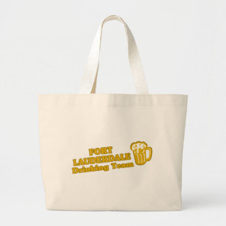 Fort Lauderdale Drinking Team tee shirts Canvas Bag