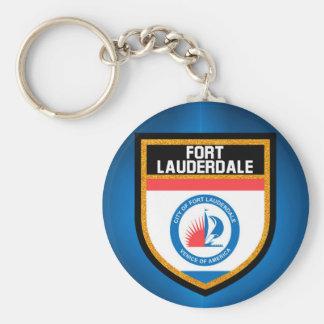 Fort Lauderdale Flag Keychain