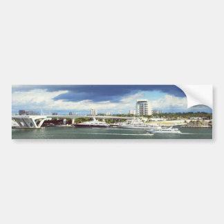 Fort lauderdale Florida Car Bumper Sticker
