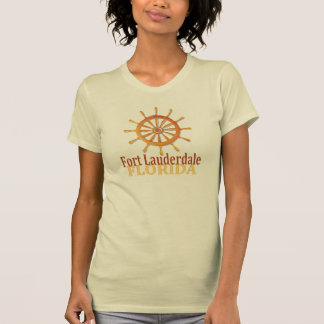 Fort Lauderdale Florida captain's wheel ladies tee