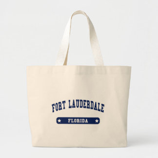 Fort Lauderdale Florida College Style tee shirts Canvas Bag