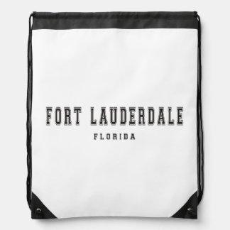 Fort Lauderdale Florida Drawstring Backpack
