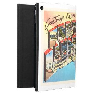 Fort Lauderdale Florida FL Vintage Travel Souvenir iPad Air Case