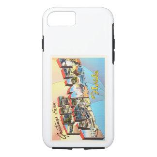 Fort Lauderdale Florida FL Vintage Travel Souvenir iPhone 8/7 Case